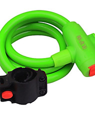 YELVQI Mountain Bike Green Anti-Theft Wire Lock