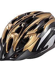 IFire Gold Black Unintegrally-molded Cycling Helmet