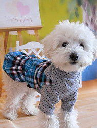 Summer Cotton Dresses for Dogs Red / Green / Blue XS / S / M / L / XL / XXL