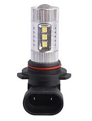 9006 / HB4 80W 12xLED SMD 680LM 6500K Белый свет LED для автомобиля Foglight фары (DC12-24V)