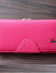 большая способность женщин&мужские держатель бумажник карточки кошелек сцепления
