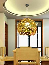 5 Lámparas Colgantes ,  Moderno / Contemporáneo Dorado Característica for Cristal / Mini Estilo MetalSala de estar / Dormitorio / Comedor