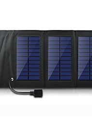 USB 5V Output Portable & Folding Solar Panel Charger for iphone6/6plus/5S Samsung S4/5 HTC and other Mobile Devices