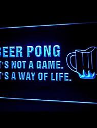 publicidade beer pong levou sinal de luz