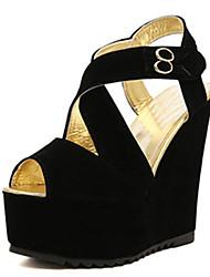 IPIEN Strip Winding Slipsole Sandal (Black)