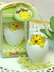 Baby Shower Chicken Candle