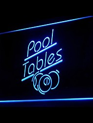 Pool Tables Advertising LED Light Sign
