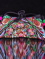 Novo Chinês estilo étnico 2014 Feminina Handmade bordados Bolsas de Ombro Lazer Crossboby Messenger Bag