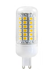 G9 LED Corn Lights T 69 SMD 5050 750 lm Warm White Decorative AC 220-240 V