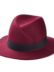 Unisex Fashion Wool Fedora Hat