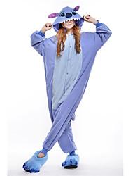 Nova Cosplay Azul Ponto Polar Adulto Kigurumi Pajama