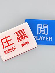 2 joueurs pack banquier gagne cristal chinois suite puce de mahjong