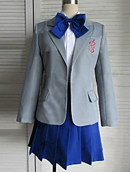 Inspired by Gekkan Shoujo Nozaki-kun Chiyo Sakura Cosplay Costumes