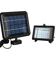30-LED White Solar Flood Lamp Lighting System