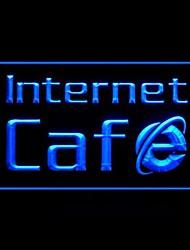 Internet Cafe Spiele Werbung LED-Licht Anmelden