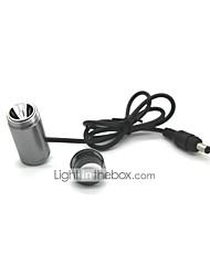 LT-WTJO1 AA7075 fez 3 Modos 1xCree XML T6 UCL Lente lanterna LED (100LM.2x18650/Battery Pack.Gray)