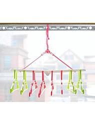 Coupled Combination Fold Hanger (Random Color)