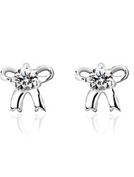 Earring Stud Earrings Jewelry Wedding / Party / Daily / Casual Silver / Sterling Silver Gold / Silver