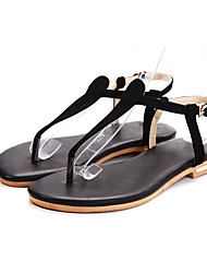 Aivini Women's Buckle Simple Low Heel Sandals