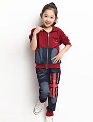 costume farceur occasionnel drapeau britannique taureau-perforateur de fille de (y compris sweat-shirt, pantalon)