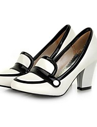 Women's Chunky Heel  Pointed Toe Pumps Shoes (More Colors)