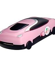 TF Card Reader мини-дизайн спортивного автомобиля mp3-плеер (розовый)