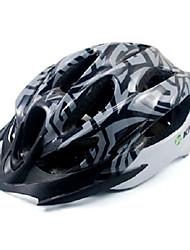 Kheng 22 aberturas de PC + eps mtb cinza integralmente moldado capacete ciclismo (54-62 centímetros)