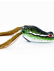 Fishing Bait Frog 60mm/15g Sauce Green Fishing Lure Pack