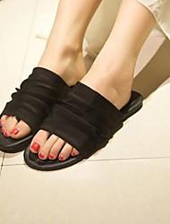 Women's Flat Heel Slide Sandals Shoes(More Colors)