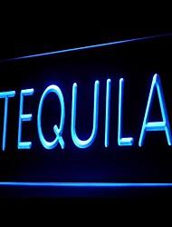 tequila bière bar publicité conduit de lumière de signe