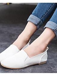 женские плоским пятки круглым носком ботинок квартир (больше цветов)