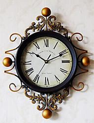 """18 """"H Vintage Style Clock Nombre romain mur"""