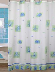 Cute Cartoon Octopus Shower Curtain