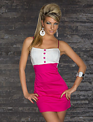 Women's Dresses , Polyester Sexy/Bodycon Club Girl