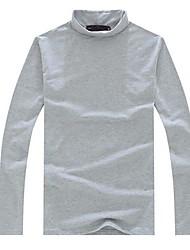 Men's Fashion Slim Turtleneck Long Sleeve T-Shirts