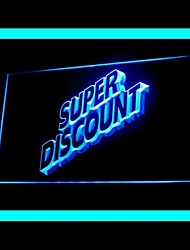 Super Discount Advertising LED Light Sign