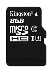 Kingston tarjeta de memoria micro SDHC TF - negro (8gb / clase 10)