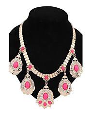 de manière simple collier de diamants de dossard des femmes