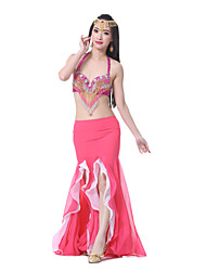 Belly Dance Skirts Women's Performance Chiffon