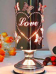 Elegant Butterfly Pattern Love Theme Electric Fragrance Desk Lamp