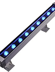 LED 9pcs High Power LED outdoors 9W Blue Wall Washer Light AC85-265V