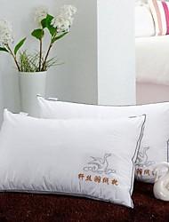 shuian® couette rectangulaire compression sain de ventilation oreiller plume de velours