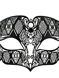 Die Nacht Killer-Black-Metal-Stil Halloween Masquerade Mask