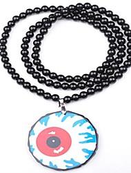 Eyeball modello Collana acrilica
