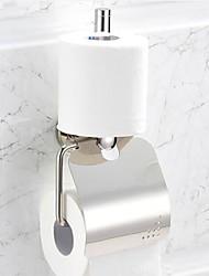 Aço inoxidável WC Suportes de papel