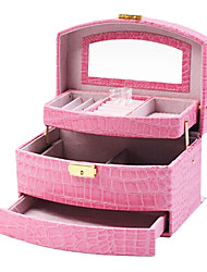 1 Pcs Special Package Mail Jewelry Boxes Cortex Cosmetic Box