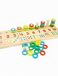 Bambini PuzzleTeaching di legno dei giocattoli educativi