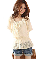 Women's Tops & Blouses , Cotton Blend/Others/Polyester Casual