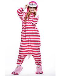 kigurumi Pyjamas New Cosplay® / Chat Collant/Combinaison Fête / Célébration Pyjamas Animale Halloween Incarnadin Mosaïque Polaire Kigurumi