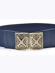 Women's Wide Stretch Elastic Waist Belt